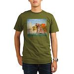 MP-Sailbts2-Golden1 Organic Men's T-Shirt (dar