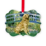 MP-BRIDGE-Golden-Banjo-Light Picture Ornament
