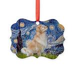 MP-Starry-GoldBoomr Picture Ornament