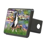 MP-Lilies2-GSMD1 Rectangular Hitch Cover