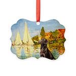 Regatta - Chocolate Labl 11 Picture Ornament