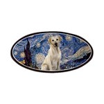 Starry Night Yellow Lab Patches