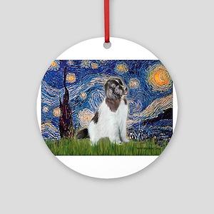 STARRY-Newfie-Landseer4 Ornament (Round)