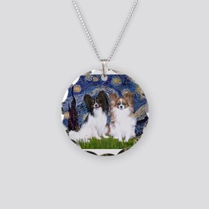 STARRY-PapiPAIR-Tri FawnPixie.png Necklace Circle