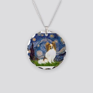 MP-STARRY-Papi-fawn Necklace Circle Charm