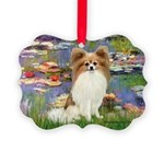 MP-LILIES2-Papi-Fawn1 Picture Ornament