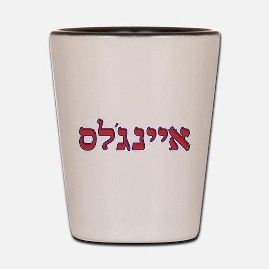 Hebrew Baseball Logo - Los Angeles Anaheim 2 Shot