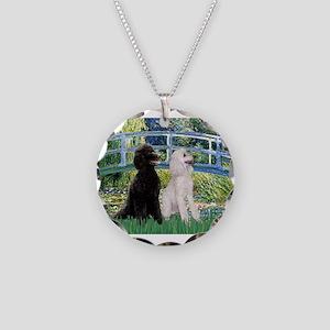 card-Bridge-PoodlePR-ST Necklace Circle Charm
