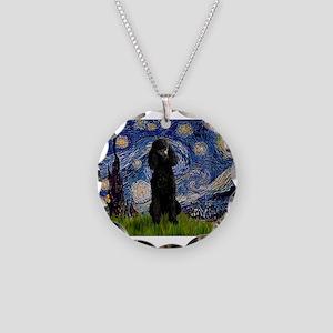 5.5x7.5-Starry-Pood-Blk-Paris Necklace Circle