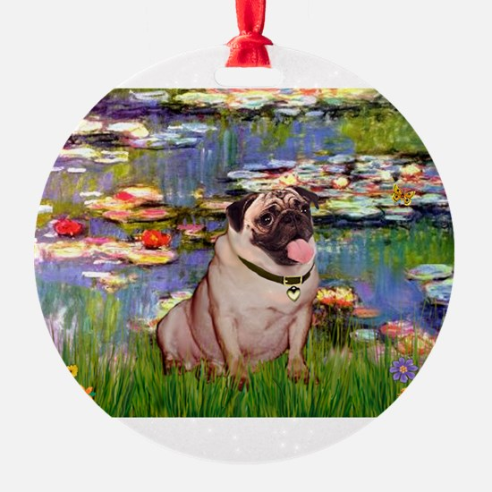 MP-LILIES2-Pug1.png Ornament