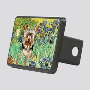 5.5x7.5-Irises-Yorkie17 Rectangular Hitch Cove