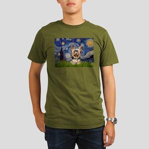 5.5x7.5-Starry-York17 Organic Men's T-Shirt (d
