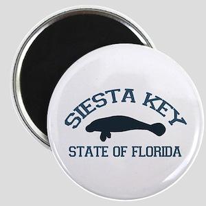 Siesta Key - Manatee Design. Magnet