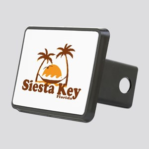 Siesta Key - Palm Trees Design. Rectangular Hitch