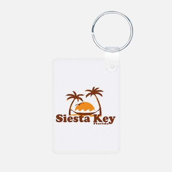 Siesta Key - Palm Trees Design. Keychains