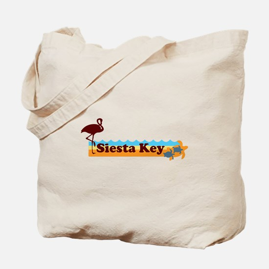 Siesta Key - Beach Design. Tote Bag
