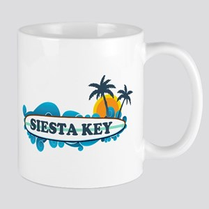 Siesta Key - Surf Design. Mug