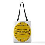 Water Polo Ball Polyester Tote Bag
