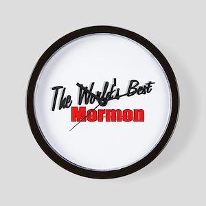 """The World's Best Mormon"" Wall Clock"