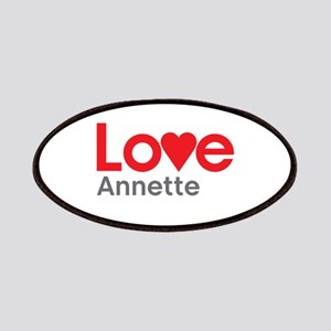 I Love Annette Patches