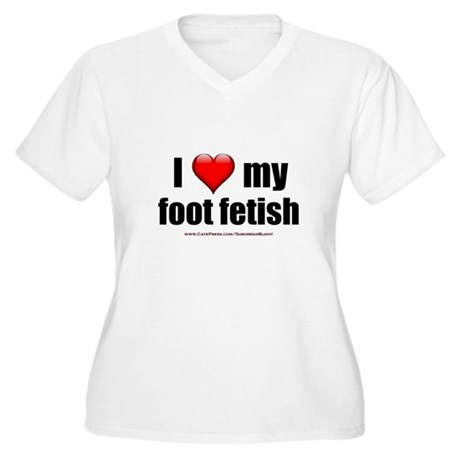 Plus size foot fetish