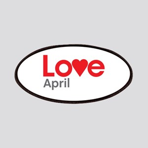 I Love April Patches