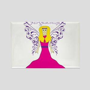 Fairy Fashionista Rectangle Magnet