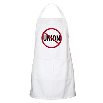 Anti-Union BBQ Apron