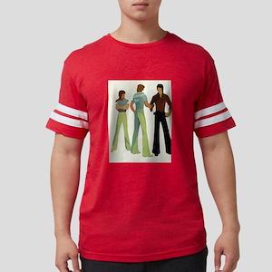 1970s vintage men Mens Football Shirt