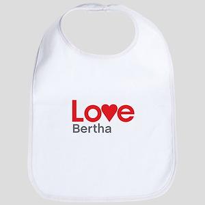 I Love Bertha Bib