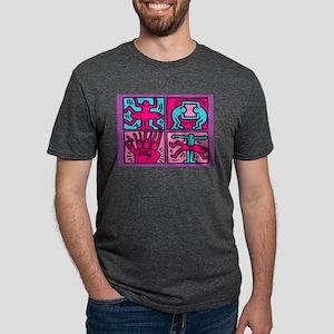 pop art Mens Tri-blend T-Shirt