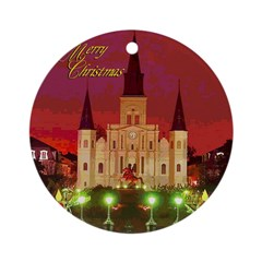 New OrleansCathedral Night Ornament 2006