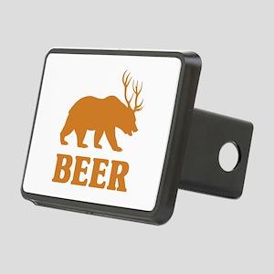 Bear+Deer=Beer Rectangular Hitch Cover