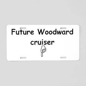 Future Woodward Cruiser Aluminum License Plate