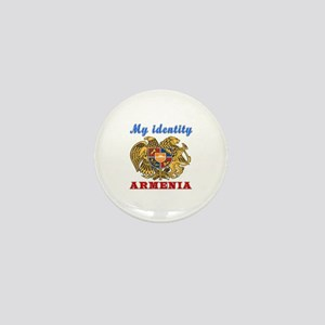 My Identity Armenia Mini Button
