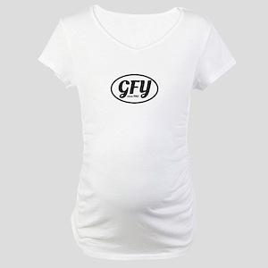 GFY MochUp 1 Maternity T-Shirt