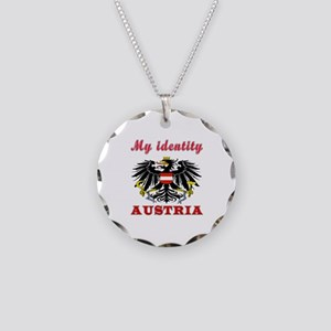 My Identity Austria Necklace Circle Charm