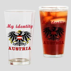 My Identity Austria Drinking Glass