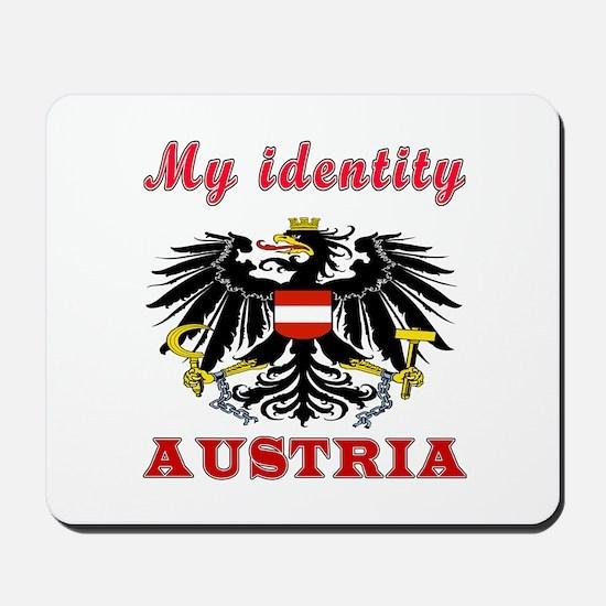 My Identity Austria Mousepad