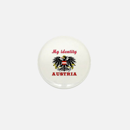 My Identity Austria Mini Button