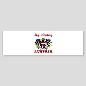 My Identity Austria Sticker (Bumper)