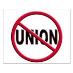 Anti-Union Small Poster