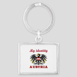 My Identity Austria Landscape Keychain