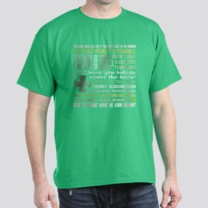 St. Patrick's Day Drinking Dark T-Shirt