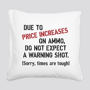 Due to price increases... Square Canvas Pillow