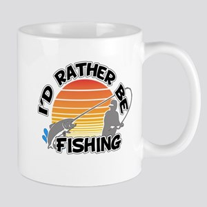 Rather Be Fishing 11 oz Ceramic Mug