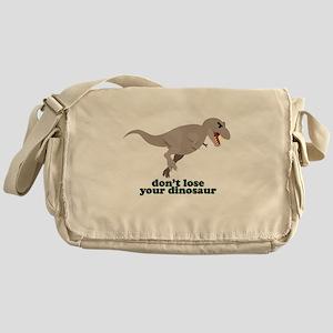 Don't Lose Your Dinosaur Messenger Bag