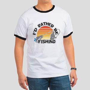 Rather Be Fishing Ringer T