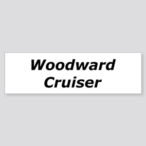 Woodward Cruiser Sticker (Bumper)