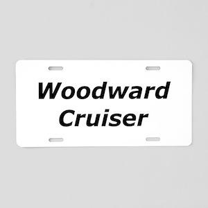 Woodward Cruiser Aluminum License Plate